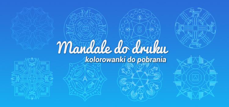Mandala – kolorowanki do druku